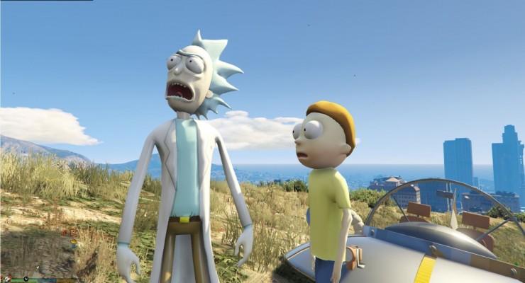 Rick and Morty GTA V Mod 05.