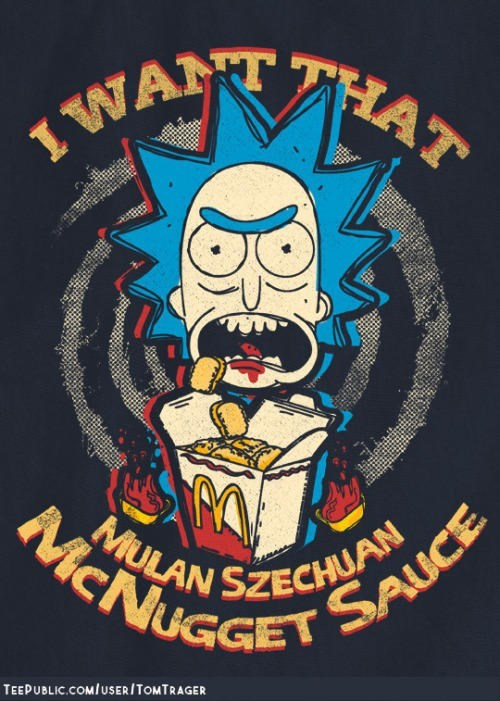 Rick and Morty Have Kicked Off A Nostalgic Craving For McDonalds Szechuan Dipping Sauce 23.