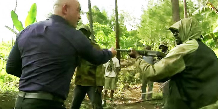 Ross Kemp Is A Real Hardman.