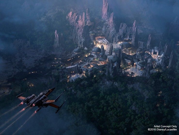 Disneyland Unveils More Disney Star Wars Land Details - 04.