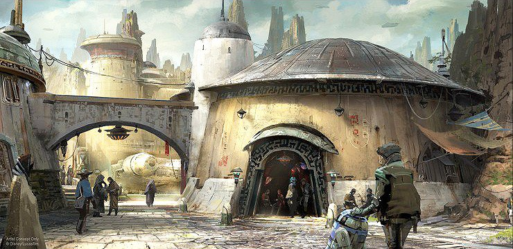 Disneyland Unveils More Disney Star Wars Land Details - 99.