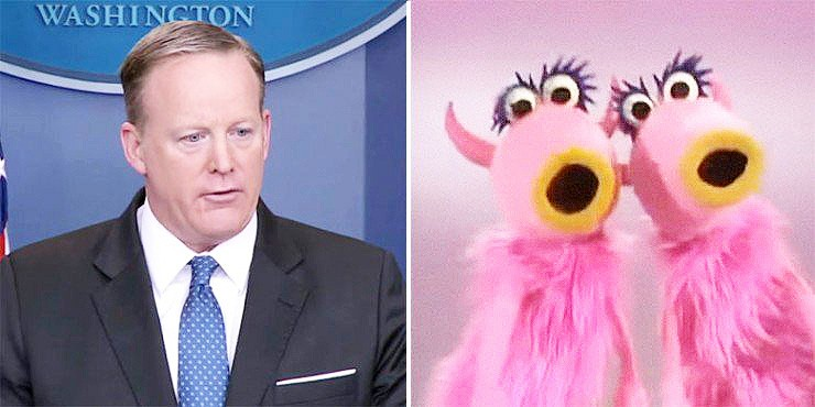 The Muppets And Sean Spicer Are Together At Last - 99.