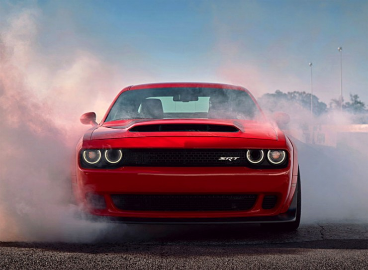 The New 2018 Dodge Challenger SRT Demon Is A Supercharged Beast Of A Car - 01.