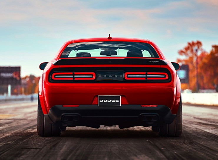 The New 2018 Dodge Demon Is A Supercharged Beast Of A Car - 10.