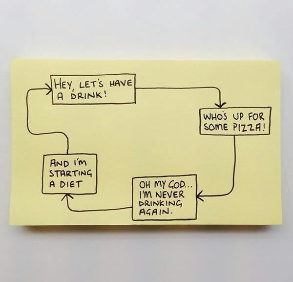 Chaz Hutton Creates Funny Sticky Notes Summarizing The Pains Of Adulthood 08.