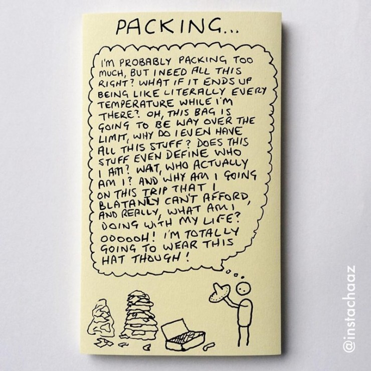 Chaz Hutton Creates Funny Sticky Notes Summarizing The Pains Of Adulthood 09.