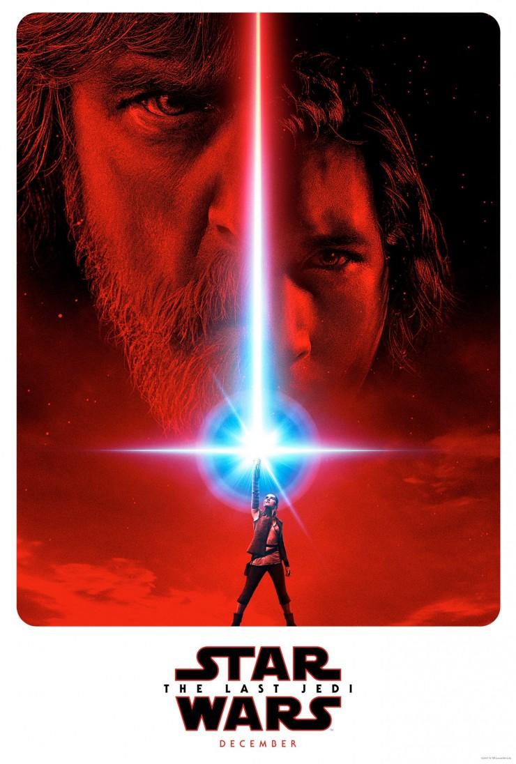 The Last Jedi Star Wars 8 The Gray Jedi Poster.