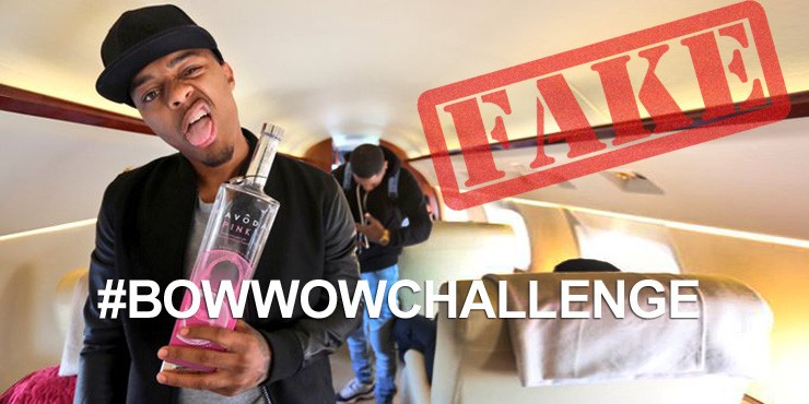 Bow Wow Challenge Mocks Shad Moss For His Private Jet Lie.