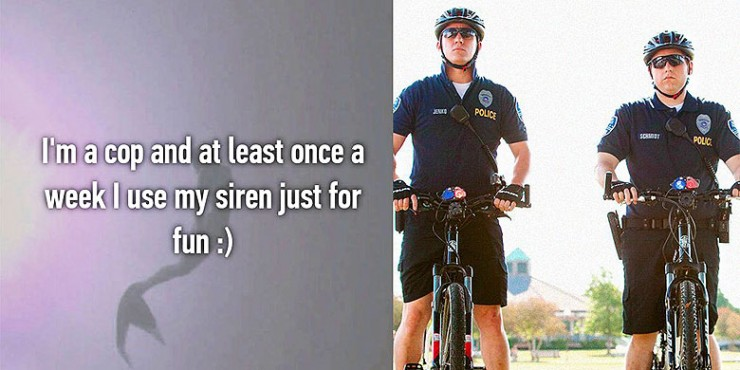 Confessions From Police Officers Not Bad.