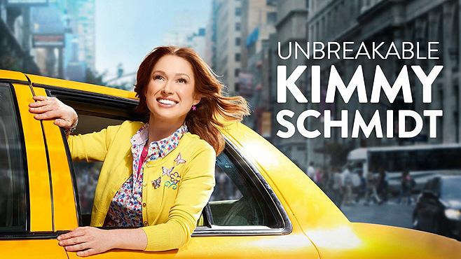 Netflix Originals Unbreakable Kimmy Schmidt.