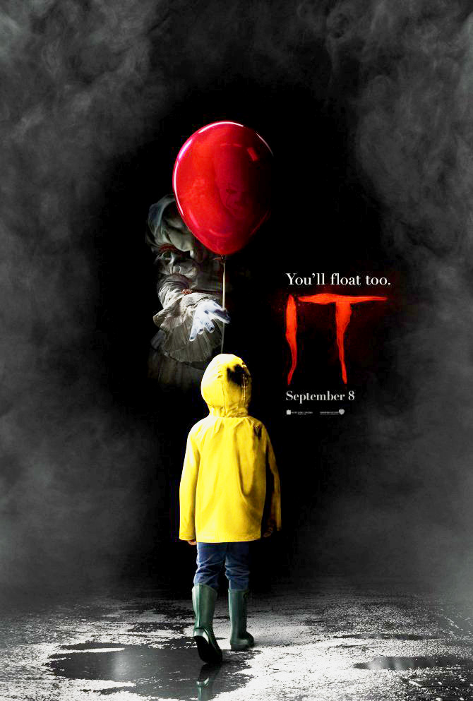 New IT Movie Trailer Gives Chilling Closer Look at Pennywise Poster.