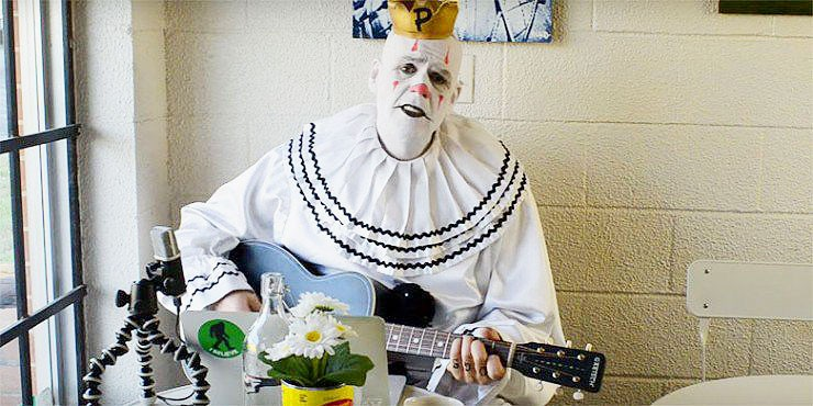 Puddles The Clown Sings Pink Floyds Wish You Were Here.
