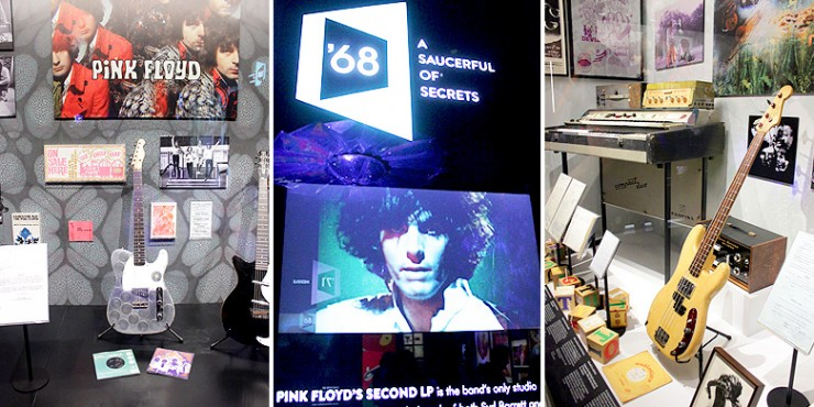 The Pink Floyd Exhibition Their Mortal Remains Review Saucerful Of Secrets.
