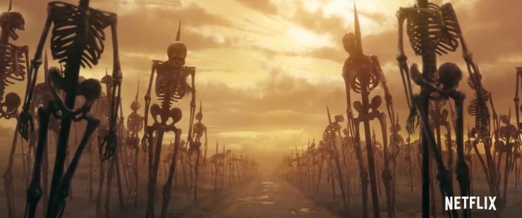 castlevania trailer 01.