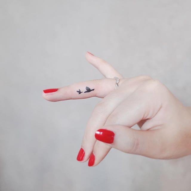 Discreet Tiny Tattoos 02.