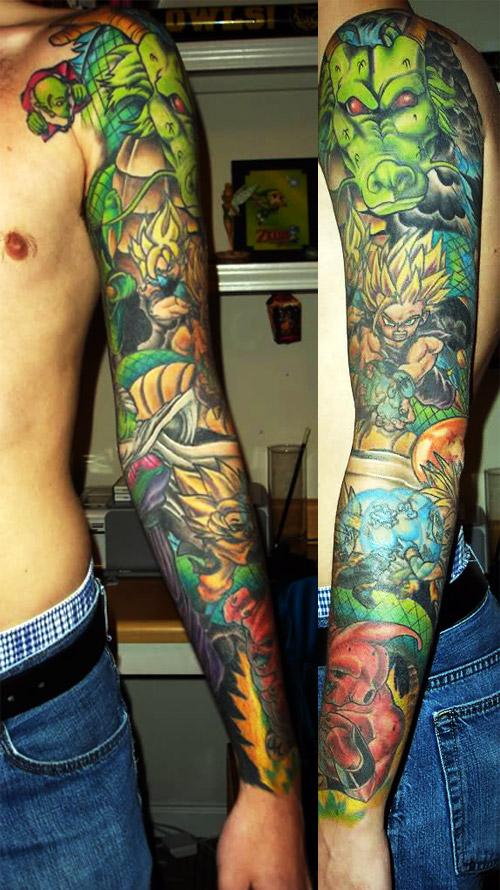 Dragon Ball Z Tattoo 01.