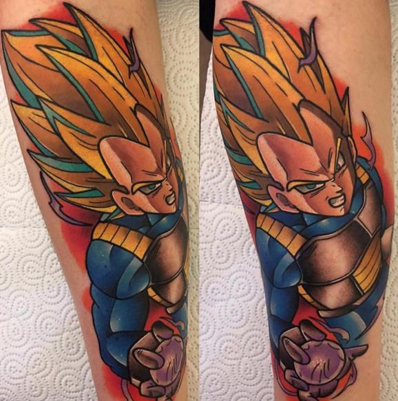 Dragon Ball Z Tattoo 02.