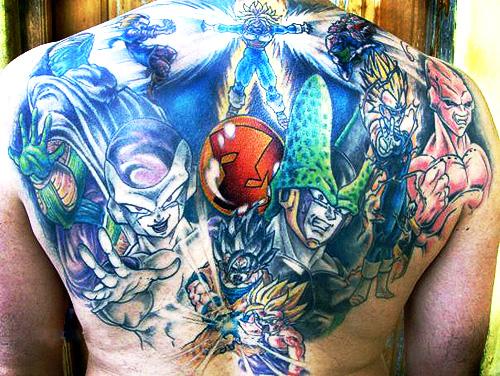 Dragon Ball Z Tattoo 03.