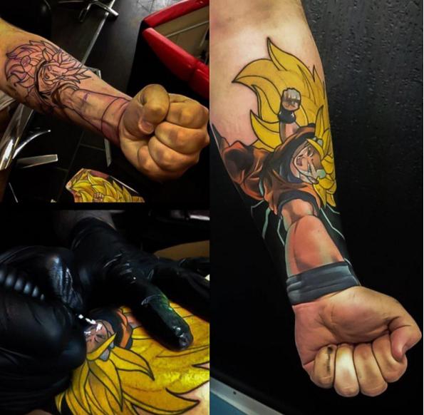 Dragon Ball Z Tattoo 04.