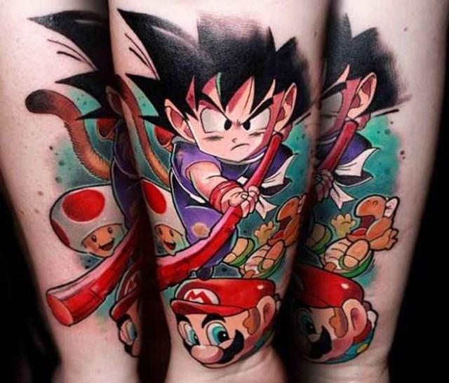 Dragon Ball Z Tattoo 05.