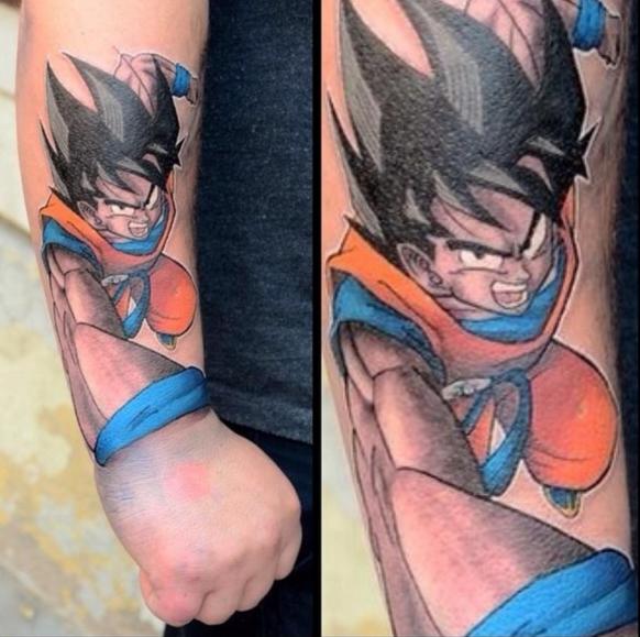 Dragon Ball Z Tattoo 06.