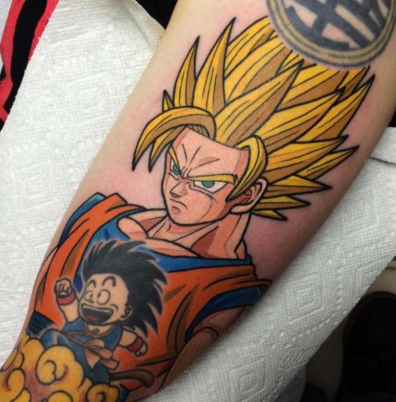 Dragon Ball Z Tattoo 08.