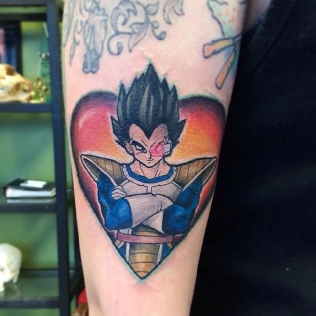 Dragon Ball Z Tattoo 09.