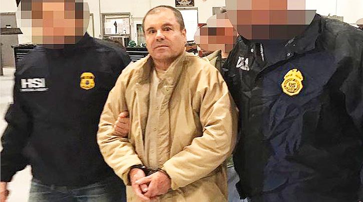 Mexican Drug Lord El Chapo Guzman.