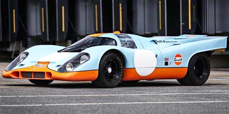 Porsche 917 Steve McQueen Le Mans Movie.
