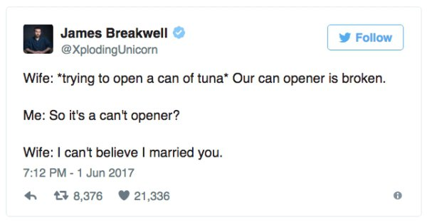 Funny Tweets About Married Life 05.