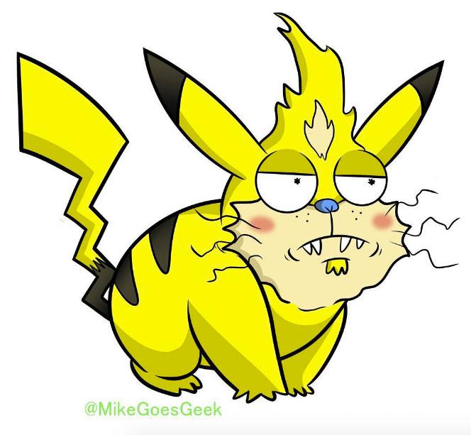 Rick And Morty Pokemon Mashups 04.