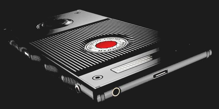 Red Hydrogen One Holographic Smartphone.