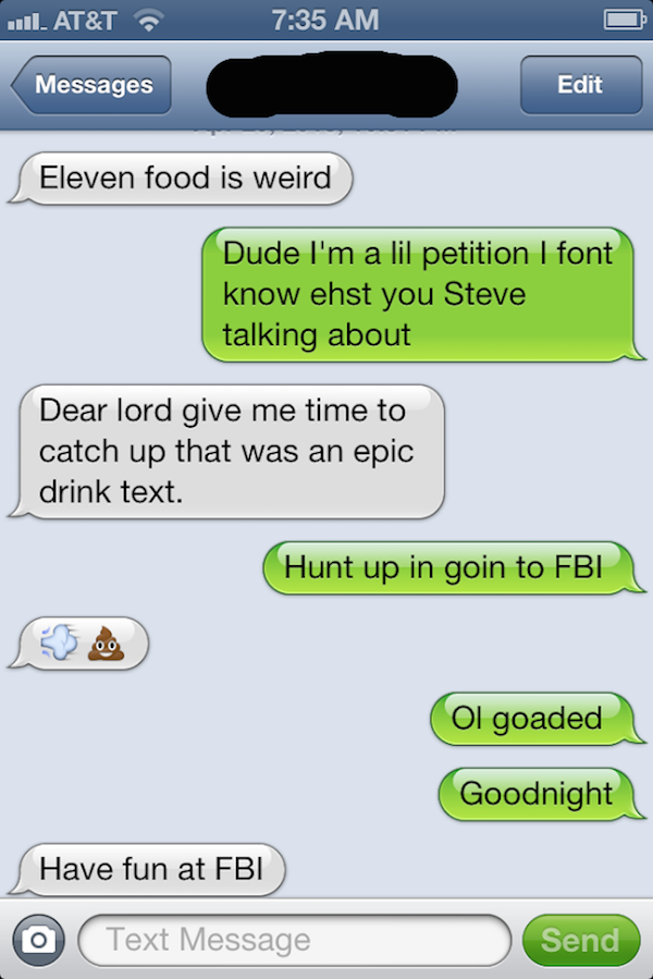 Funny Drunk Texts From Last Night 01.