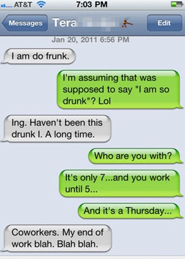 Funny Drunk Texts From Last Night 02.