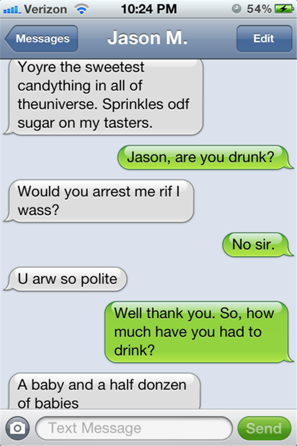Funny Drunk Texts From Last Night 04.