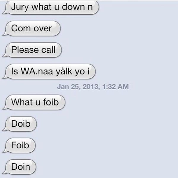 Funny Drunk Texts From Last Night 06.