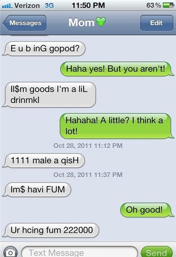 Funny Drunk Texts From Last Night 07.