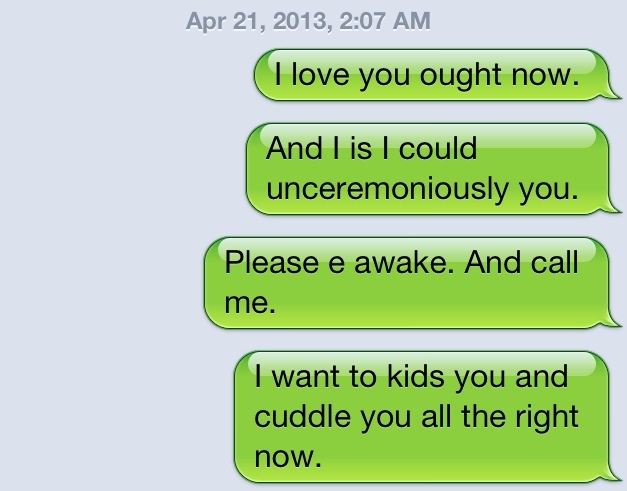 Funny Drunk Texts From Last Night 08.