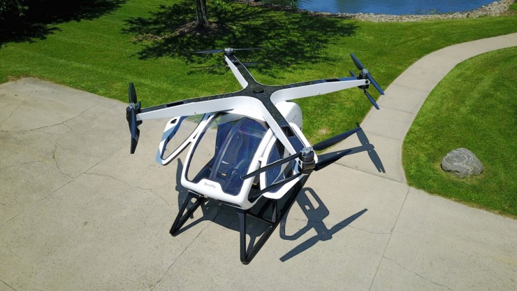 Workhorse SureFly Personal Helicopter 01.