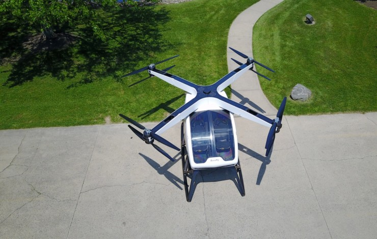 Workhorse SureFly Personal Helicopter 02.