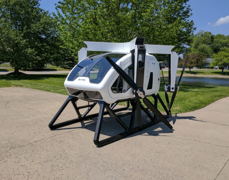 Workhorse SureFly Personal Helicopter 03.