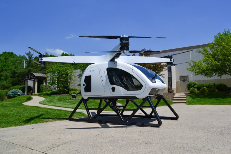 Workhorse SureFly Personal Helicopter 04.