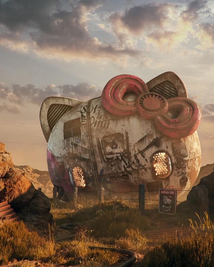 Post Apocalyptic Pop Culture Filip Hodas 04.