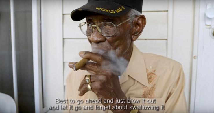 Oldest WW2 Veteran Richard Overton 03.
