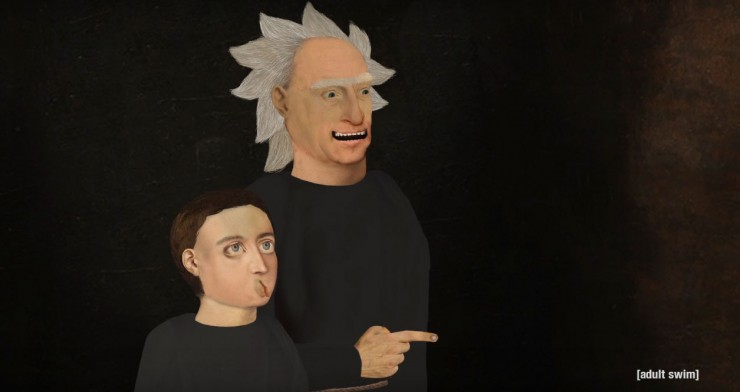 season 3 rick and morty Exquisite Corpse 02.