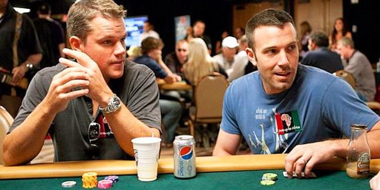 Celebrity Poker Players Ben Affleck