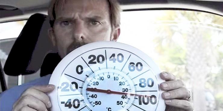 Dr Ernie Ward Locks Himself In Hot Cars 02.