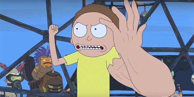 i am alive Rick and Morty remix 01.