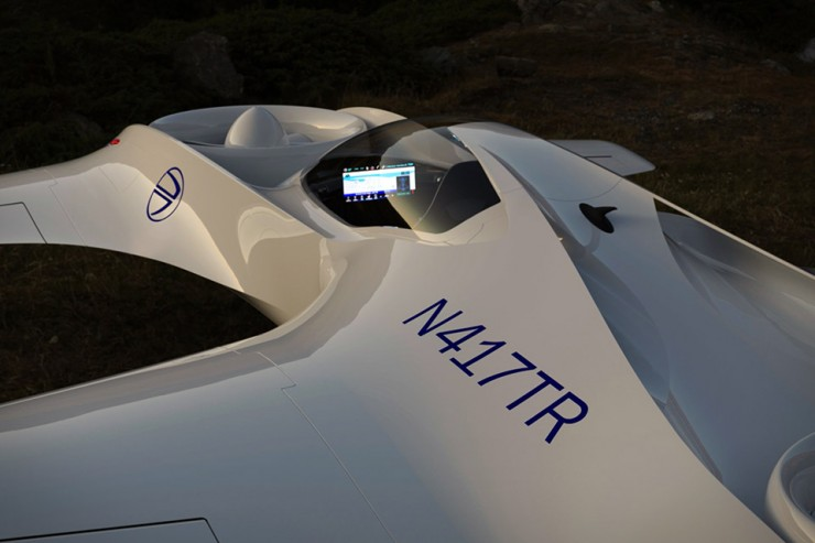 DeLorean DR-7 VTOL aircraft flying car  02