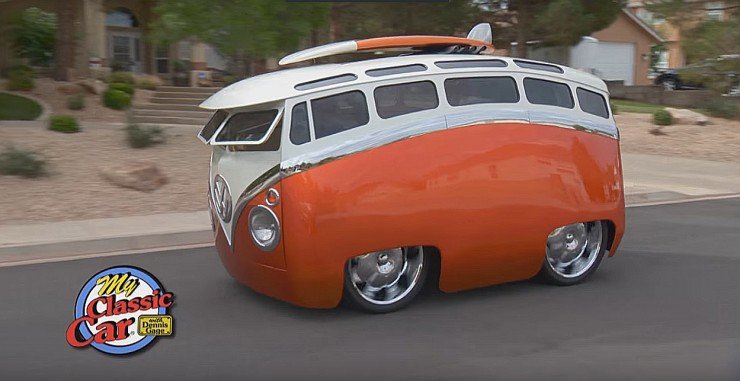 Ron Berry 1965 Cartoon Custom VW Bus Surf Seeker 01.